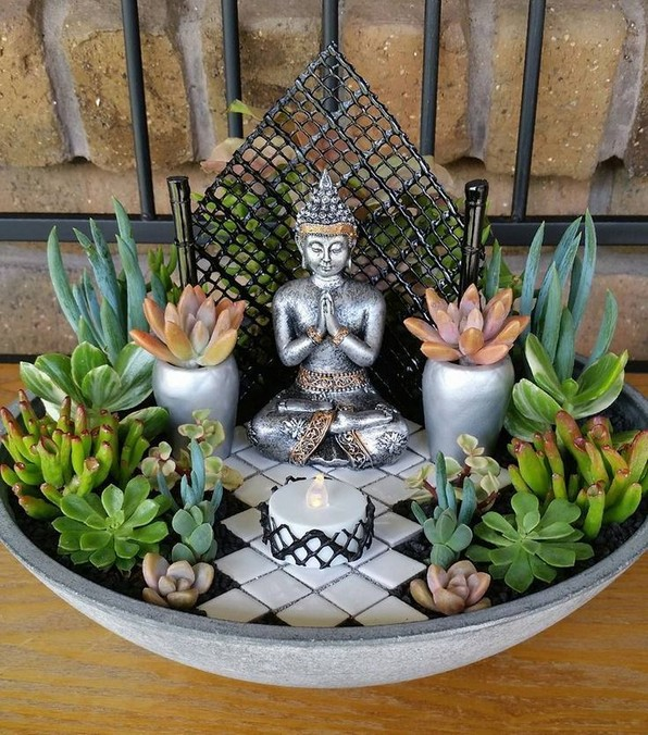 Designing A Japanese Zen Garden Small Apartment Balcony Decoration Ideas On A Budget Makeover Decor Designer Revamp Balconies Gardening Garden Terrace Furniture Landscaping Wooden Flooring In Greater Noida Extension Indrapuram Vaishali